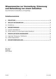 Wissenswertes zur Dekubitusprophylaxe 5-08