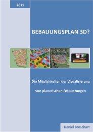 BEBAUUNGSPLAN 3D? - cpe - Universität Kaiserslautern