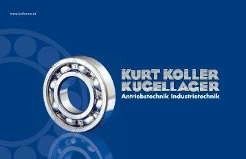 Download (PDF,2.9 MB) - Kurt Koller Kugellager