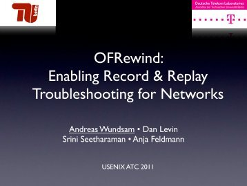 OFRewind: Enabling Record & Replay Troubleshooting for Networks