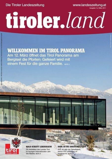 Willkommen im tirol Panorama - Die Tiroler Landeszeitung