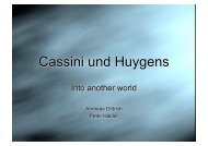 Cassini und Huygens - Andreas Dittrich