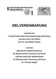 Erlangen-Nürnberg - Bayerisches Staatsministerium für ...
