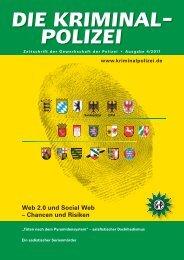 Web 2.0 und Social Web – Chancen und Risiken - Die Kriminalpolizei