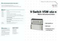 V-Switch VSW-16x-n - HETEC Datensysteme GmbH, Germering