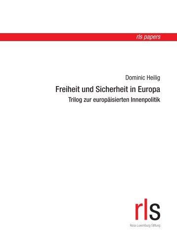 Freiheit und Sicherheit in Europa - eDoc