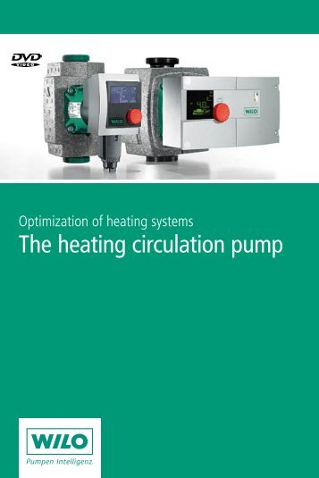 The heating circulation pump - FWU