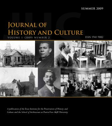 Journal of History and Culture Journal of History and Culture