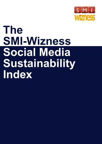 The SMI-Wizness Social Media Sustainability Index