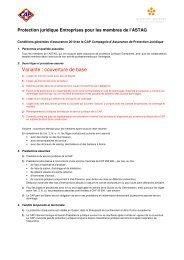 ASTAG Betriebsrechtsschutz 2010 f ... - Glausen + Partner AG