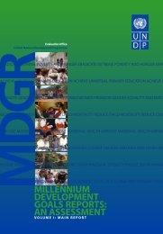 an assessment - United Nations Development Programme