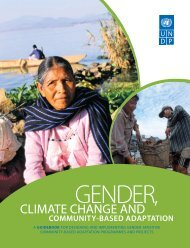 Climate Change and Community-Based Adaptation - United Nations ...