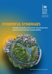 Powerful Synergies: Gender Equality, Economic Development