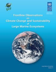 Frontline Observations on Climate Change and Sustainability of