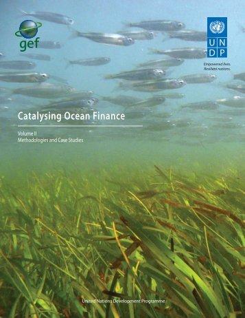 Catalysing Ocean Finance - United Nations Development Programme