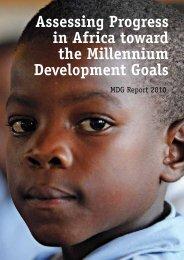 Assessing Progress in Africa toward the Millennium Development ...