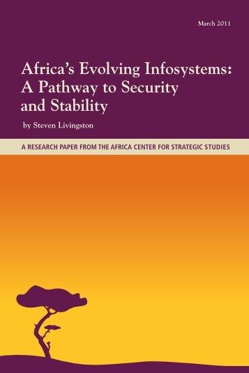 Africa's Evolving Infosystems - Africa Center for Strategic Studies
