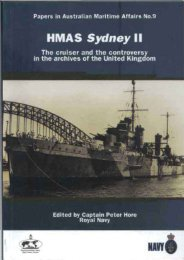Sydney - Royal Australian Navy