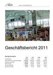 Bilanz per 31. Dezember 2011 - Sport & Freizeitpark Gitterli Liestal