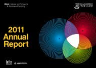 IPAS Annual Report - University of Adelaide