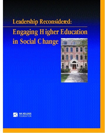 Leadership Reconsidered: Engaging Higher Education in ... - NASPA