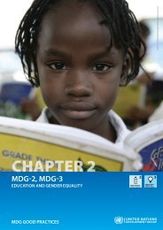Chapter 2 on Education and Gender Equality - mdgnet.undg.org ...