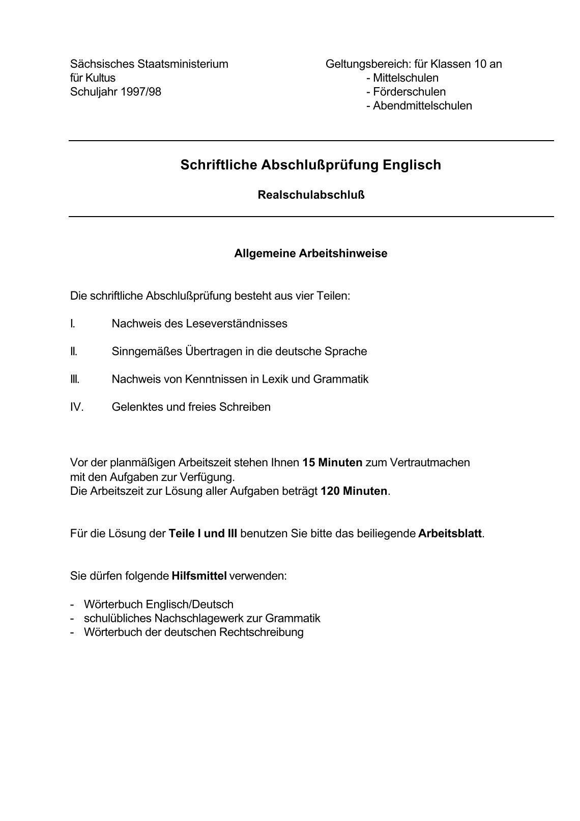 Ausgezeichnet Mittelschule Schriftlich Arbeitsblatt Ideen - Super ...