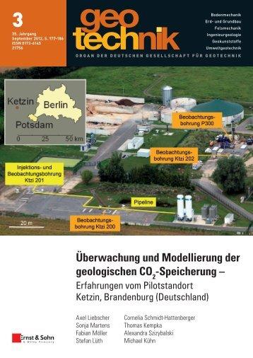 Überwachung und Modellierung der geologischen CO -Speicherung –