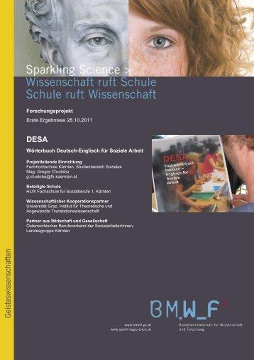 Forschungsprojekt Erste Ergebnisse 28.10.2011 Wörterbuch ...