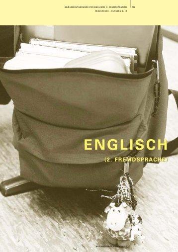 Bildungsstandards Englisch (2. Fremdsprache) - Bildung stärkt ...