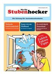 Zahlen Fakten Tipps - Stubenhocker - Die Zeitung für ...