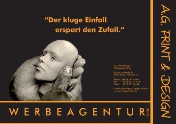 A.G. Print & Design Werbeagentur GmbH