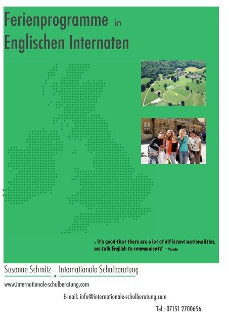 können Sie - Internationale Schulberatung