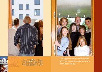 Schule und Internat - LGH Schwäbisch Gmünd