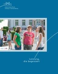 Schul- und Internatskonzept - Internatsschule Schloss Hansenberg