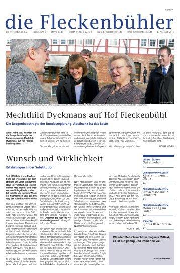 Wunsch und Wirklichkeit Mechthild Dyckmans auf Hof Fleckenbühl