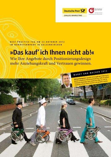 Das kauf' ich Ihnen nicht ab!« - Gute Botschafter GmbH