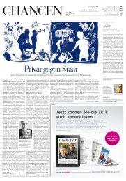 Privat gegen Staat - Die ZEIT - Bund der Freien Waldorfschulen