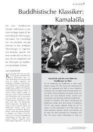 Buddhistische Klassiker: Kamalaϕla - Tibetisches Zentrum eV