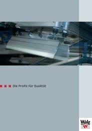 Walzprospekt engl. + dt.indd - Heinz Walz GmbH
