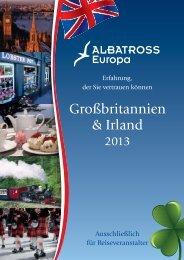 ALBATROSS Europa Großbritannien & Irland Katalog 2013