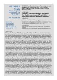 Autorenbeschreibung mit Fragebogen und Auswertung - ZPID