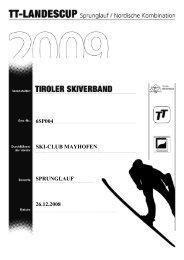 6sp004 ski-club mayhofen sprunglauf 26.12.2008 - Tiroler Skiverband