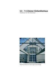 5.5 - 7.5 Zimmer-Einfamilienhaus - Gränicher Immobilien Marketing