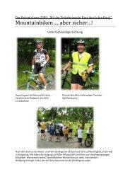 Mountainbiken…, aber sicher…! - Landesverkehrswacht ...