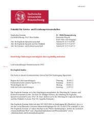 BA-Kurskommentar SS 2012 - Technische Universität Braunschweig