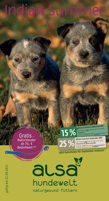 September-Magazin als PDF - ALSA-Hundewelt