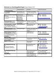 Adressen zur Hochbegabtenberatung, Röthlingshöfer, Oktober 2012