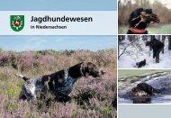 """""""Jagdhundewesen in Niedersachsen"""" steht hier zum kostenfreien ..."""