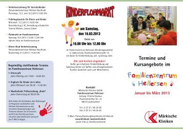 Schauen Sie rein - Märkische Kliniken GmbH